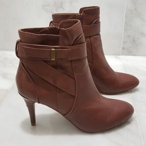 Charles David Belted Ankle Booties